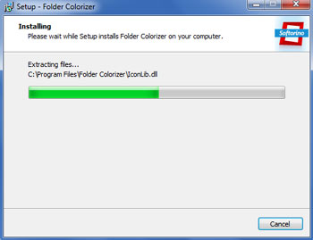 Installation Folder Colorizer
