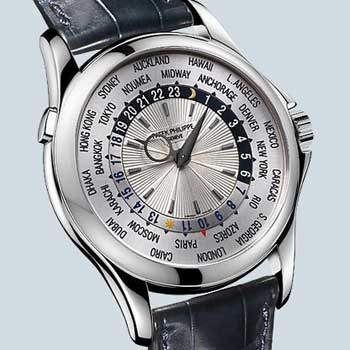 Patek Philippe World Time Platinum