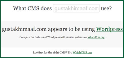 WhatCMS