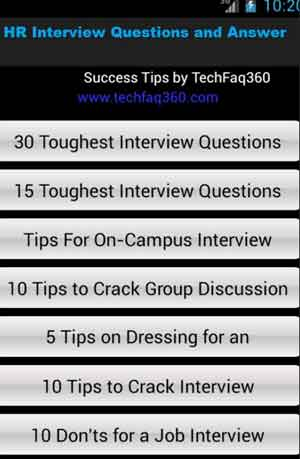 HR Interview Questions & Ans
