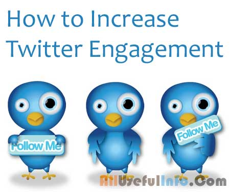 Augmentation twitter engagement