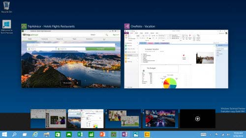 Windows 10 Bureau Multiple