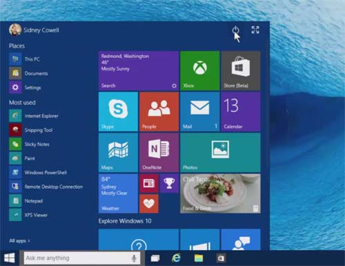 10 Menu Démarrer de Windows