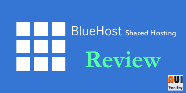 Review Hosting Bluehost Shared