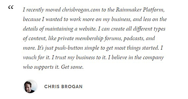 chrisbrogan-rainmakerplatform-testimonial