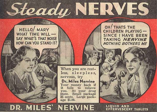 image of patent medicine advertisement