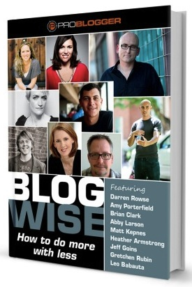 image of blogwise ebook cover