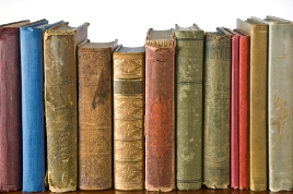 image of antique books