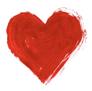 Image of Painted Heart