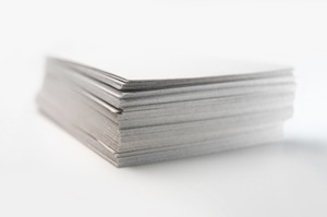 image of stack of papers