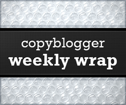 image of Copyblogger Weekly Wrap logo