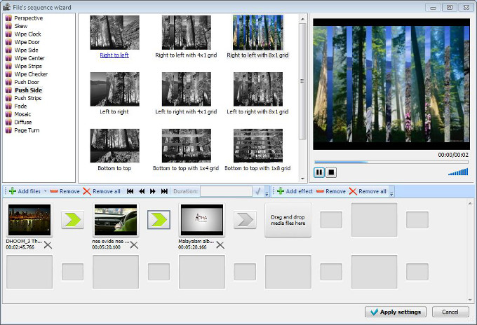 SVCD Video Editor - Sequence Assistant Fichier