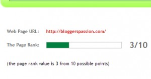 site pagerank