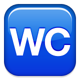 WC WhatsApp Symbole