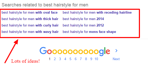 outil Google suggestion