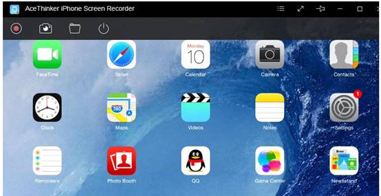 Screen Recorder AceThinker iPhone